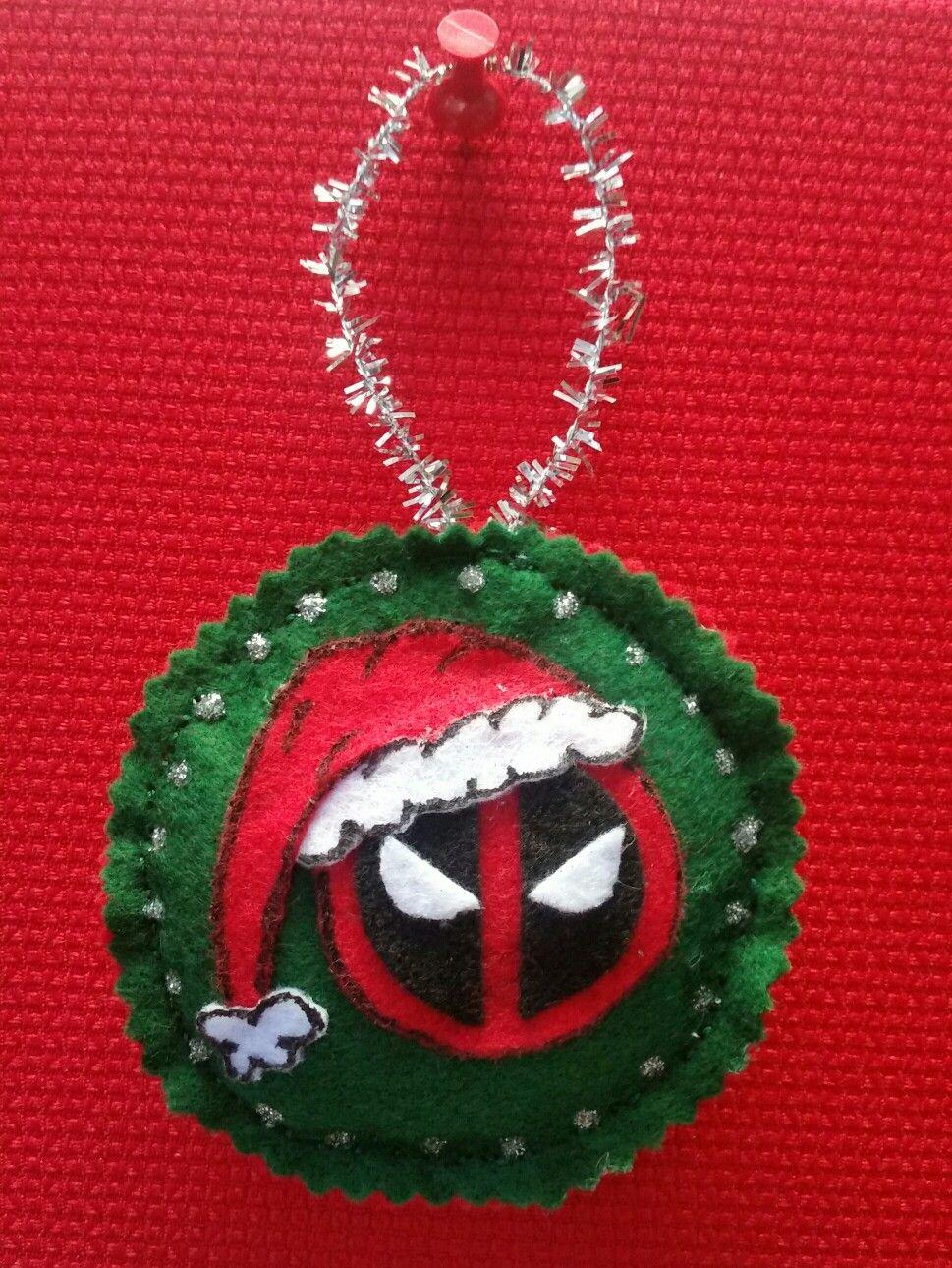 Deadpool Christmas ornament | Deadpool | Pinterest