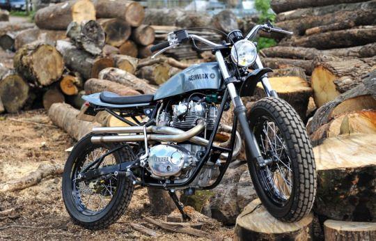 Yamaha XS750 Scrambler by Redmaxspeedshop.com