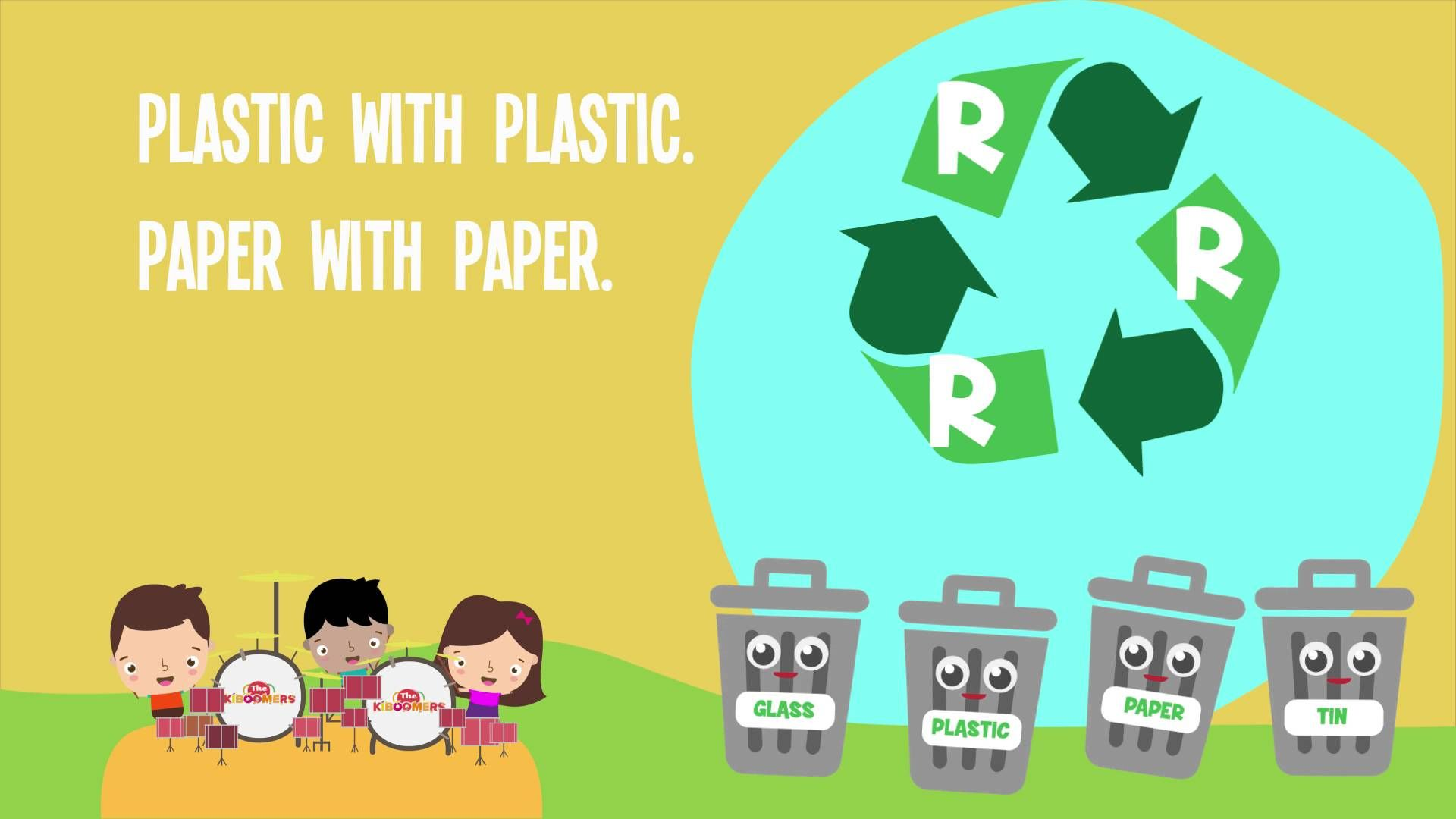 Reduce Reuse Recycle Song For Kids