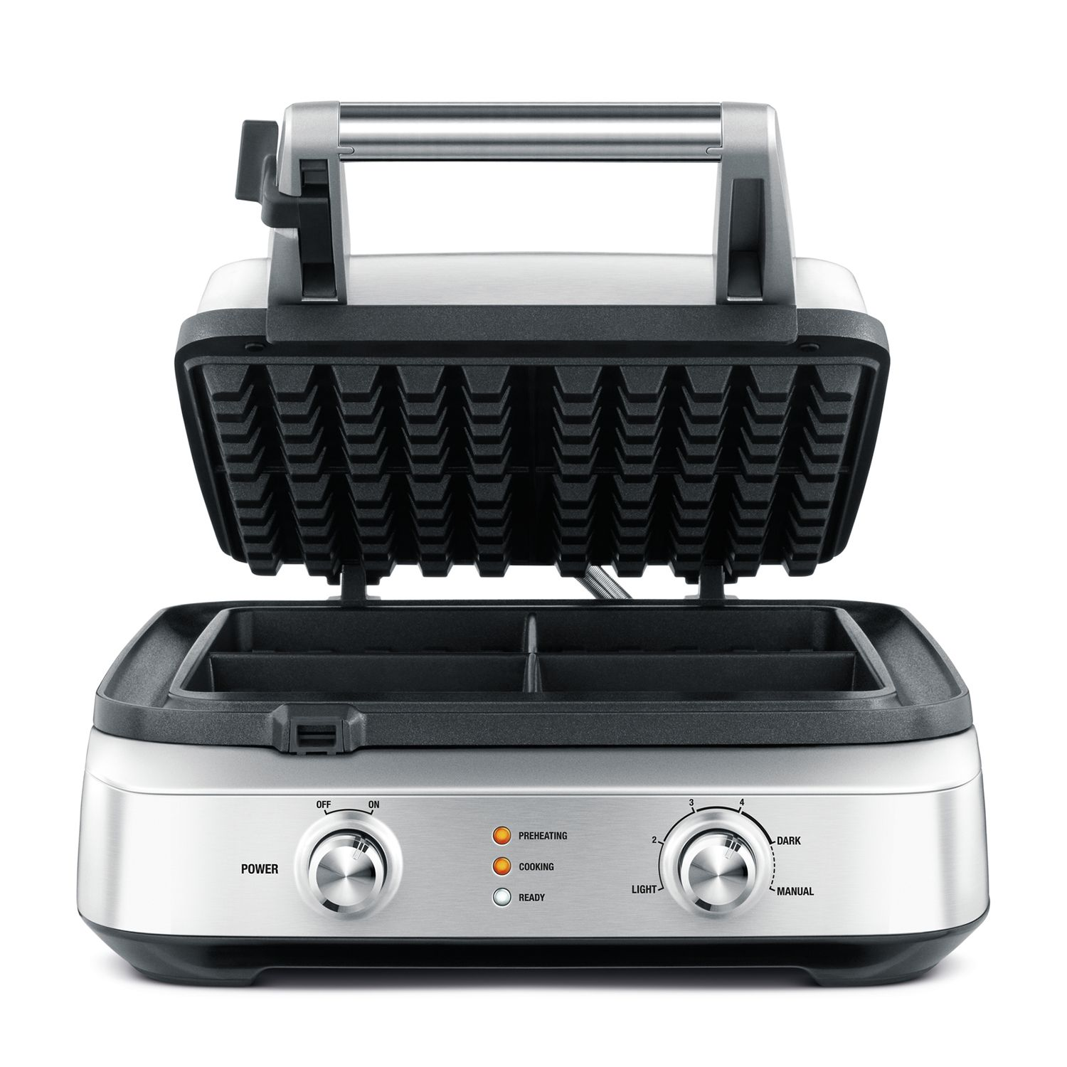 Breville Smart Waffle (With images) Brushed stainless