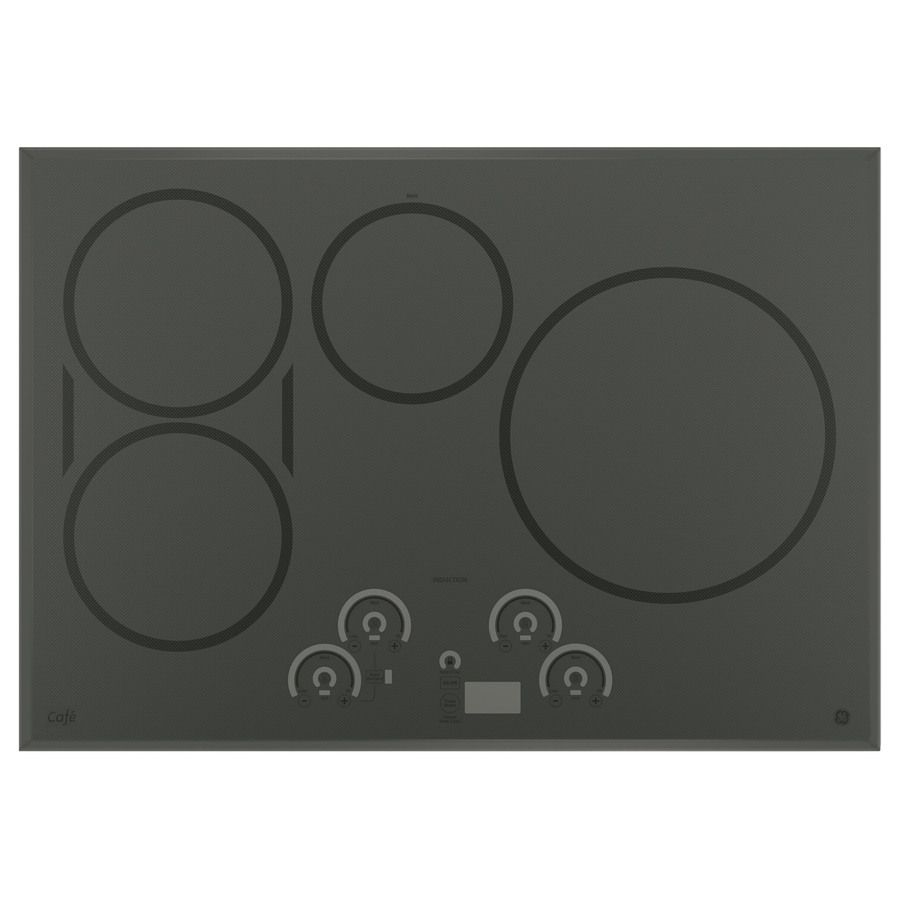 Ge Cafe Smooth Surface Induction Electric Cooktop Stainless Steel