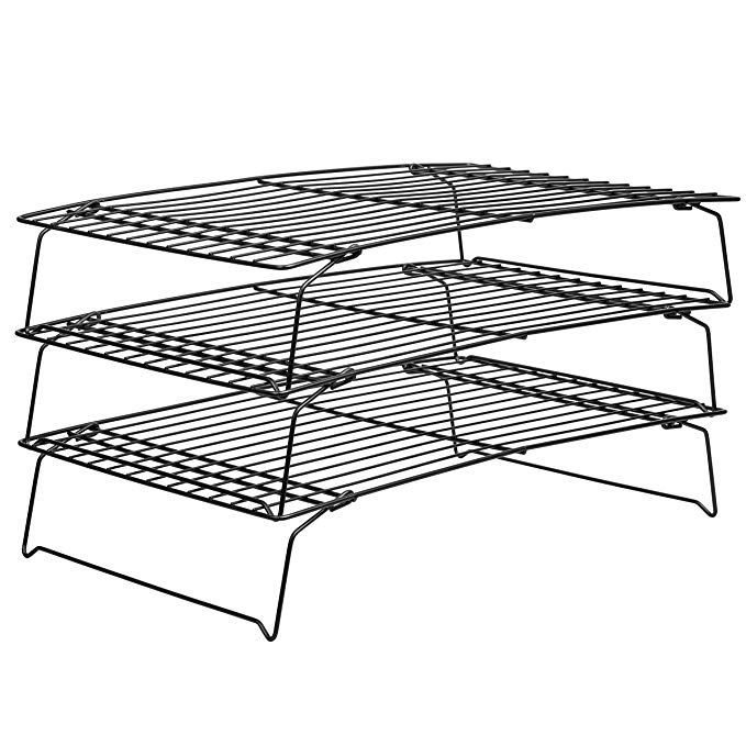 Amazon Com Wilton Perfect Results Cooling Rack 3 Tier Non Stick