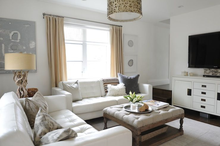 Moth Design - Chic, comfy living room with Alita Collection Champagne Hanging Pendant ...