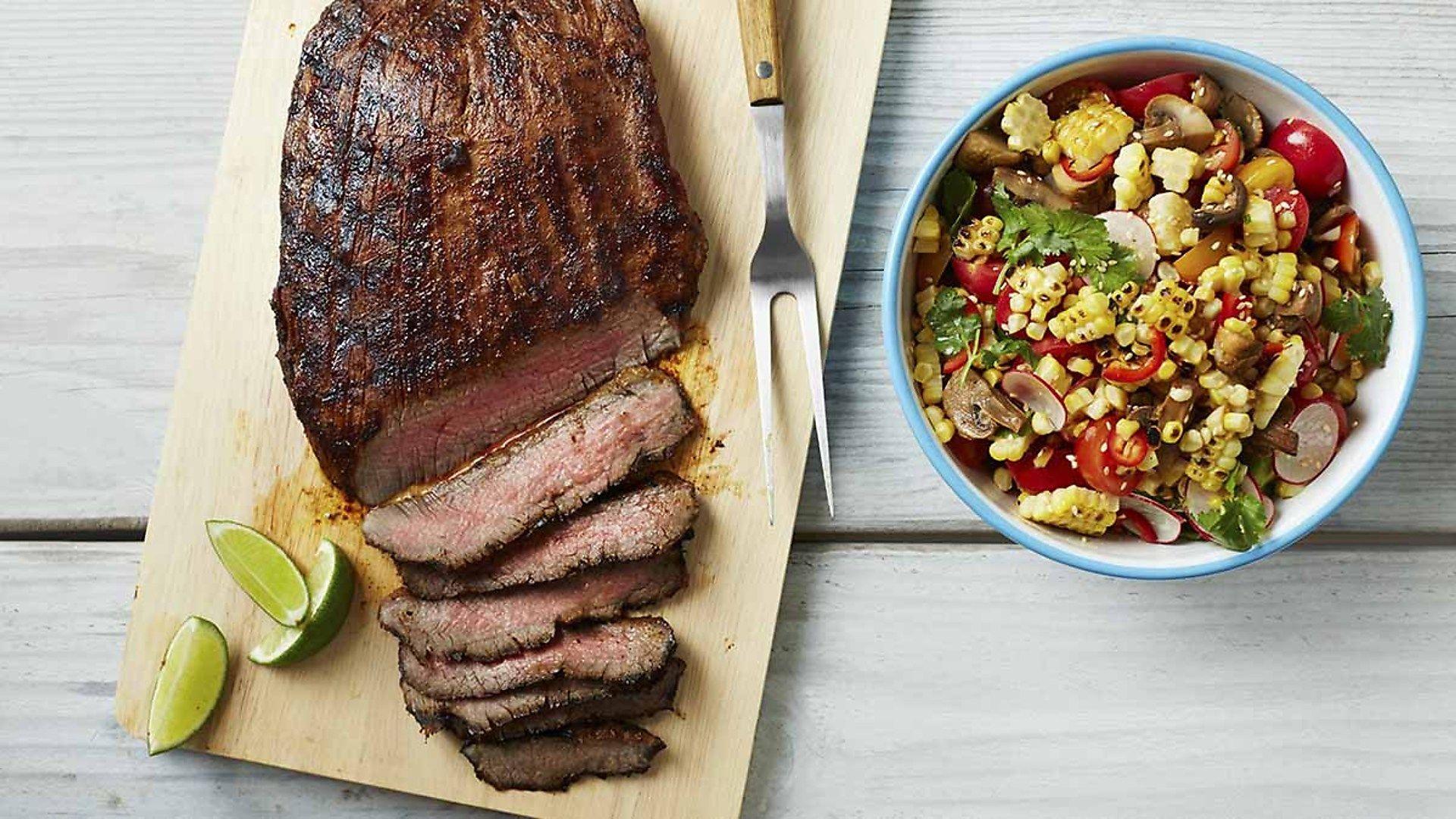 Mushroom Magazine 69: Chili-Lime Flank Steak