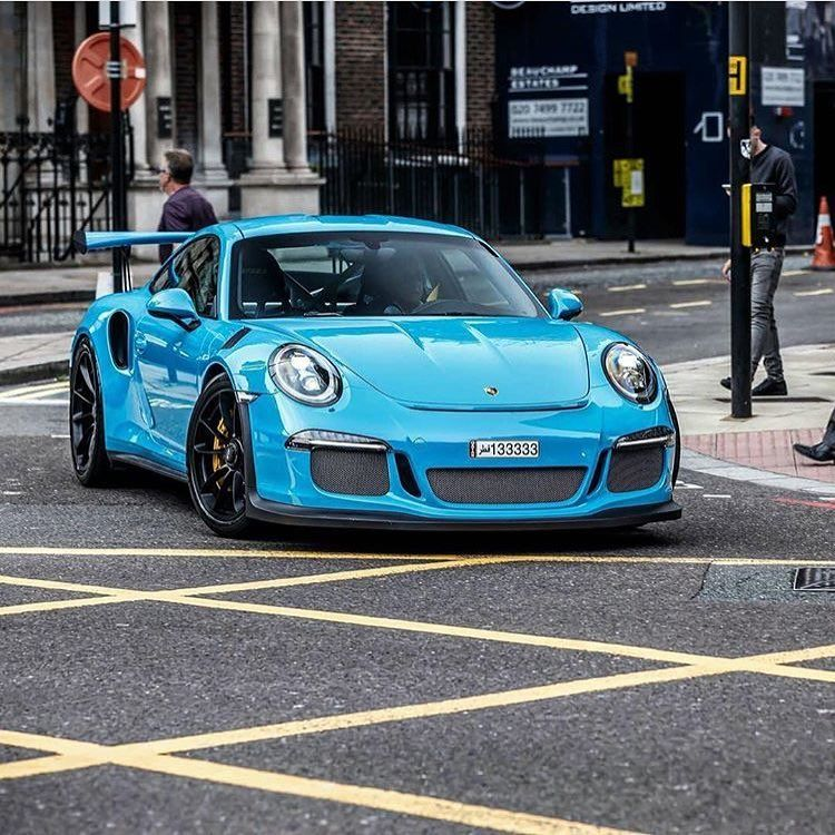 Miami blue gt3rs