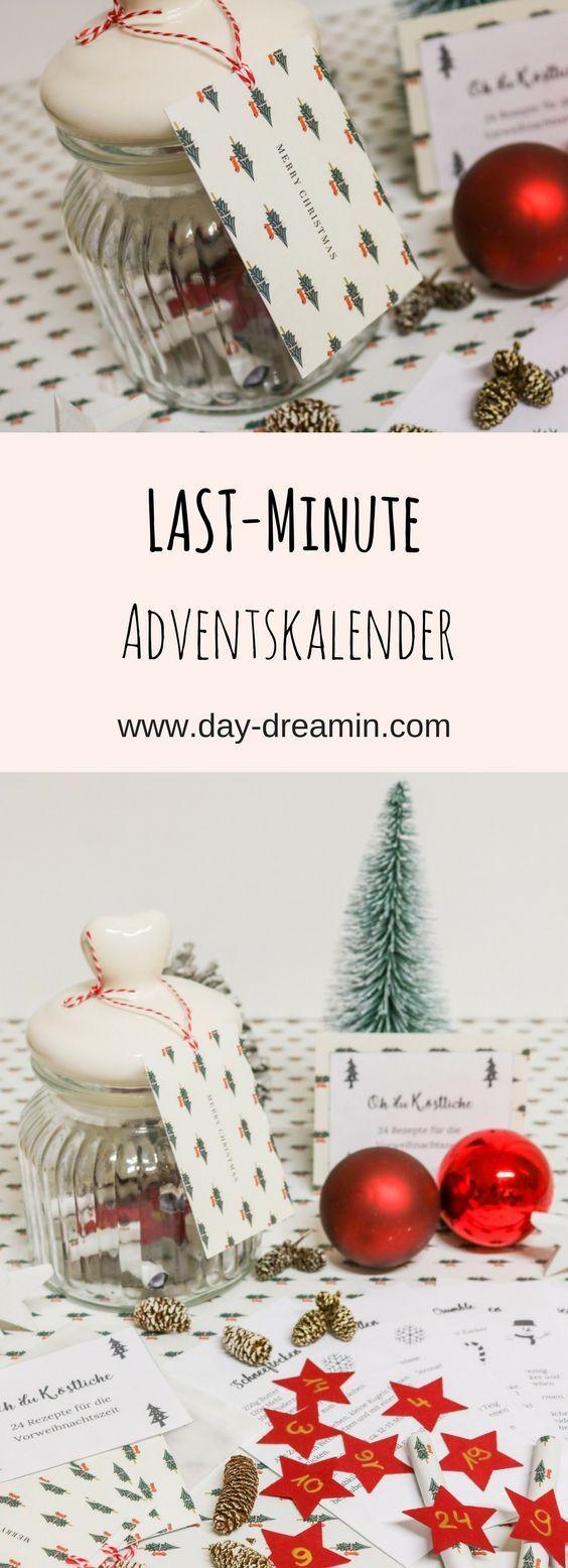 Adventskalender Last Minute