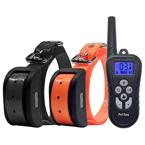 Petspy Dual Dog Training Shock Collar For 2 Dogs With Beep