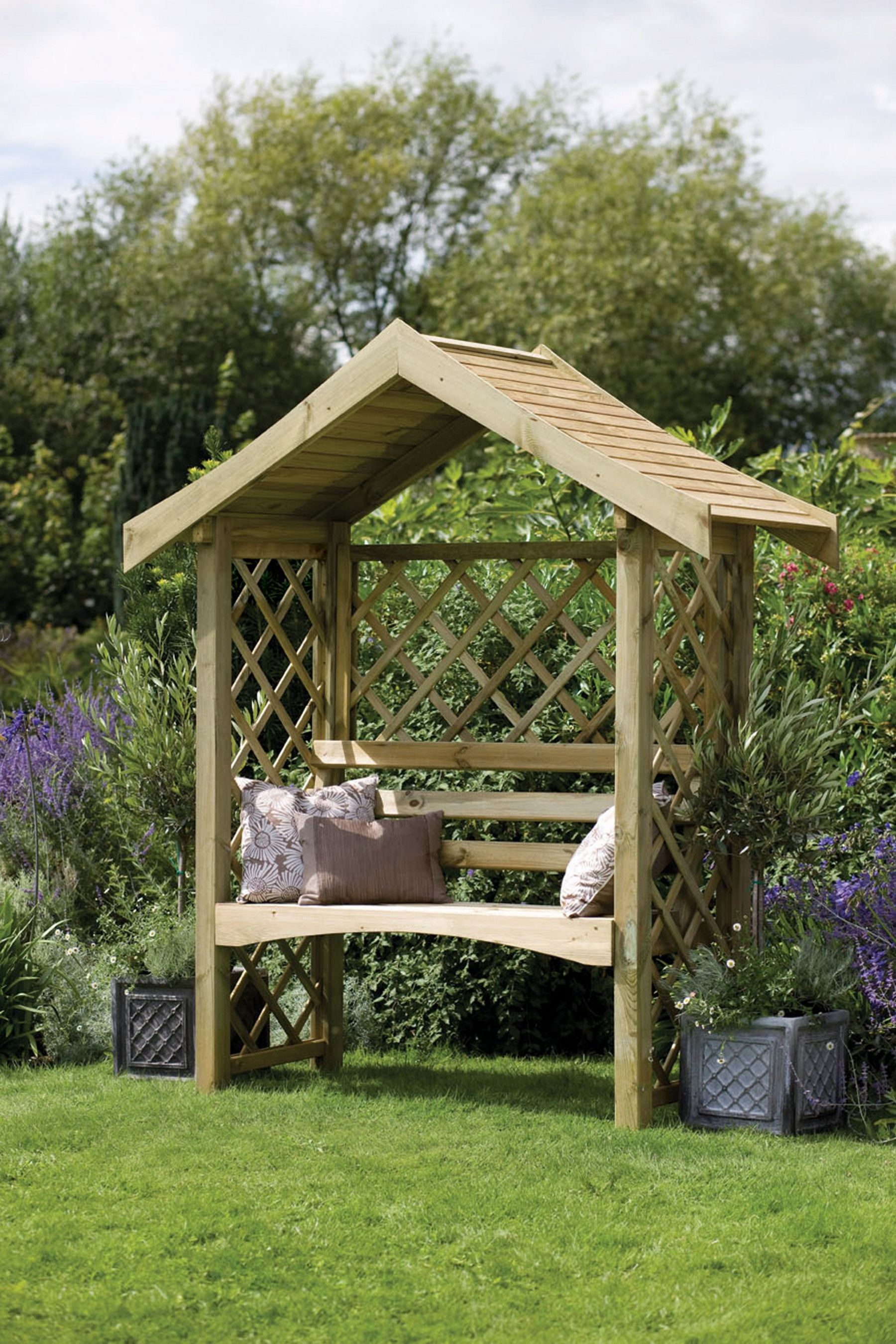 Pin By Terri Giversen On Someday Projects Garden Arbour Seat Garden Arbor Garden Structures