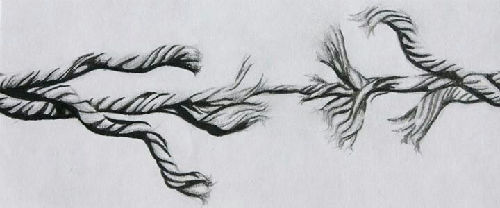 "Pencil drawing by Michelle Ewert ""Breaking Point""   Pencil drawings, Drawings,  Art"