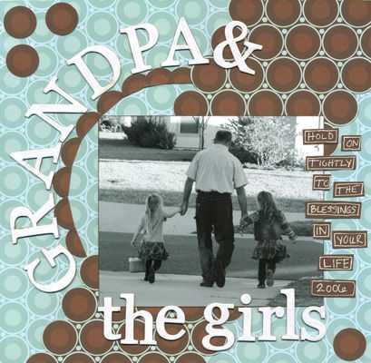 Grandpa nd the Girls