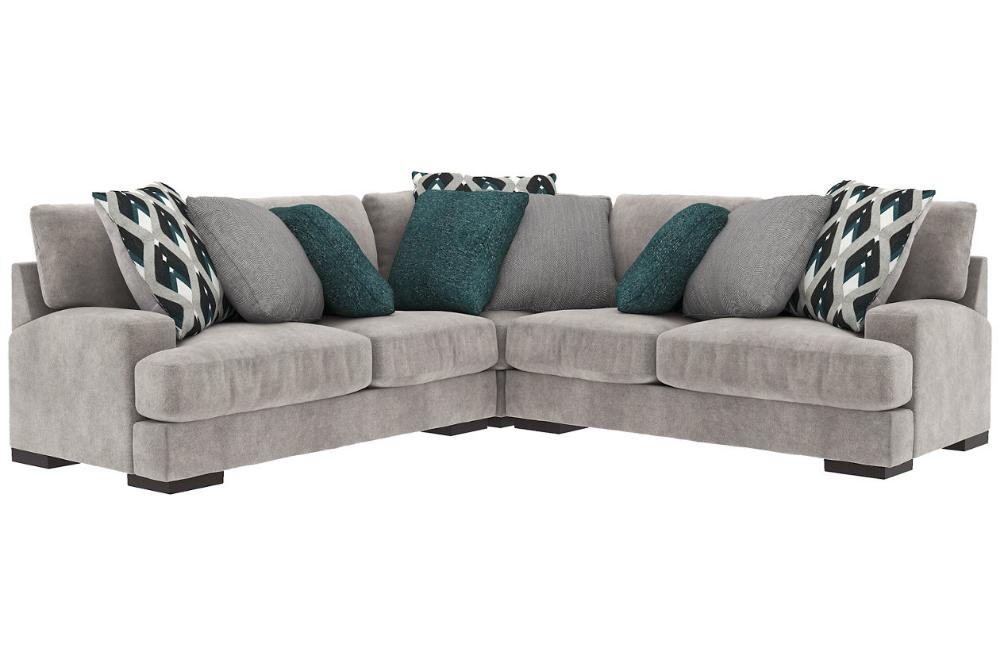 Best Bardarson 3 Piece Sectional Ashley Furniture Homestore 640 x 480
