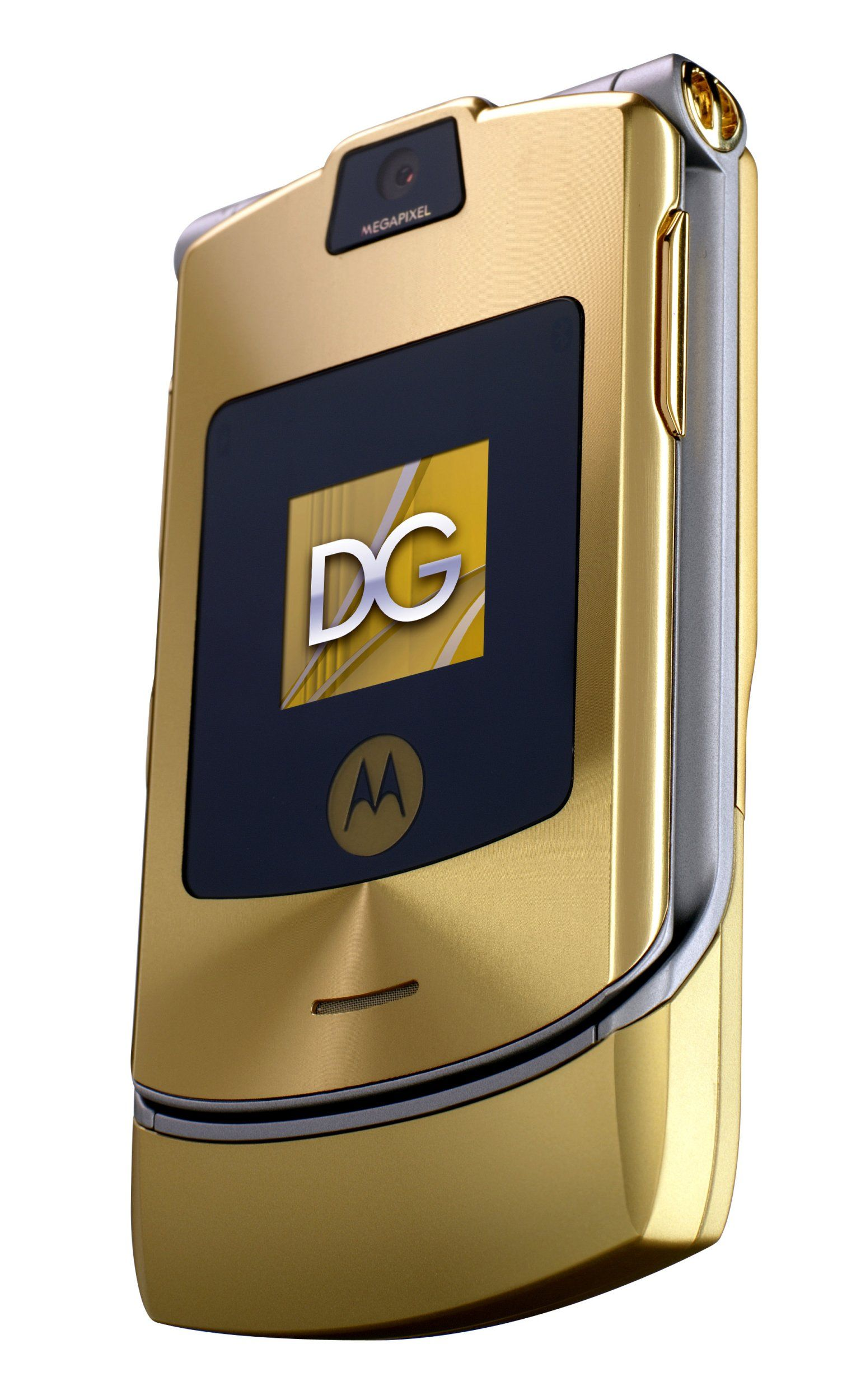 Motorola RAZR V3i Dolce & Gabbana Unlocked Phone with MP3