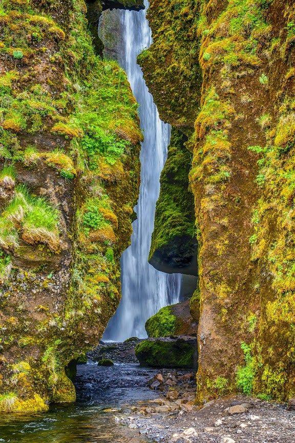 Iceland, Us Travel, Waterfall