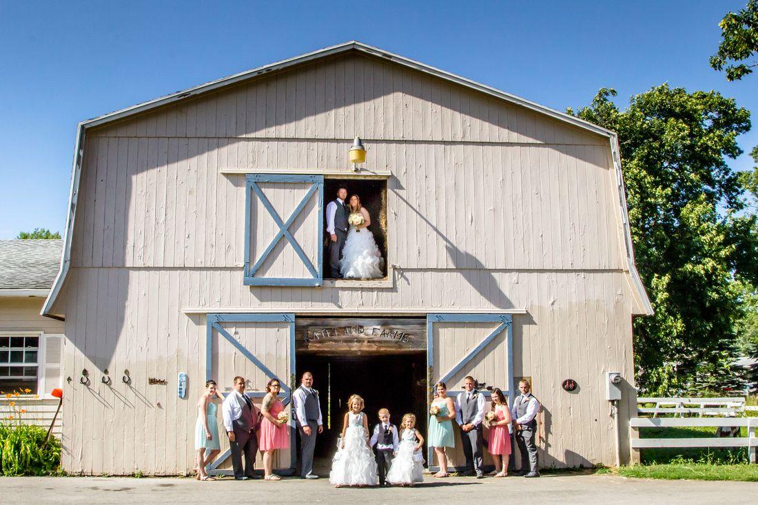 Barn Wedding Kateland Farms Holley NY
