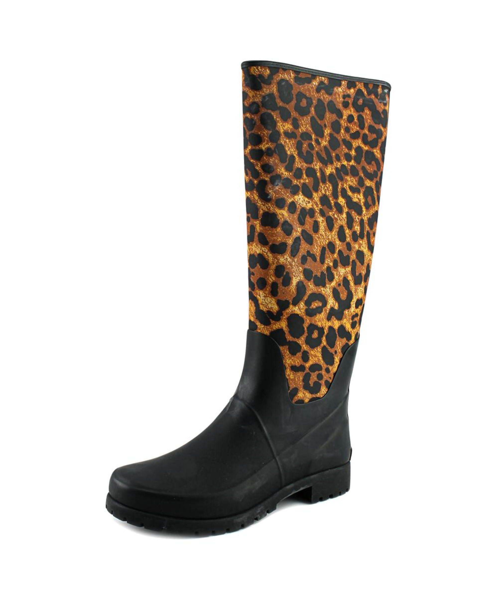 outlet fashion Style footlocker sale online Lauren Ralph Lauren Round-Toe Knee-High Rain Boots discount release dates find great cheap online VP9I3rpy0