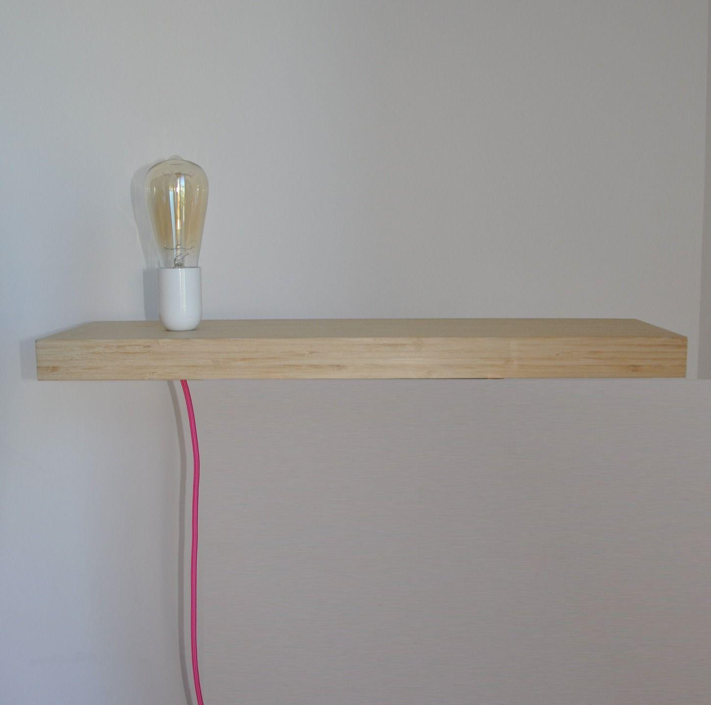 lampe tagre moderne et design ampoule dco table de nuit vide poche - Table De Nuit Etagere