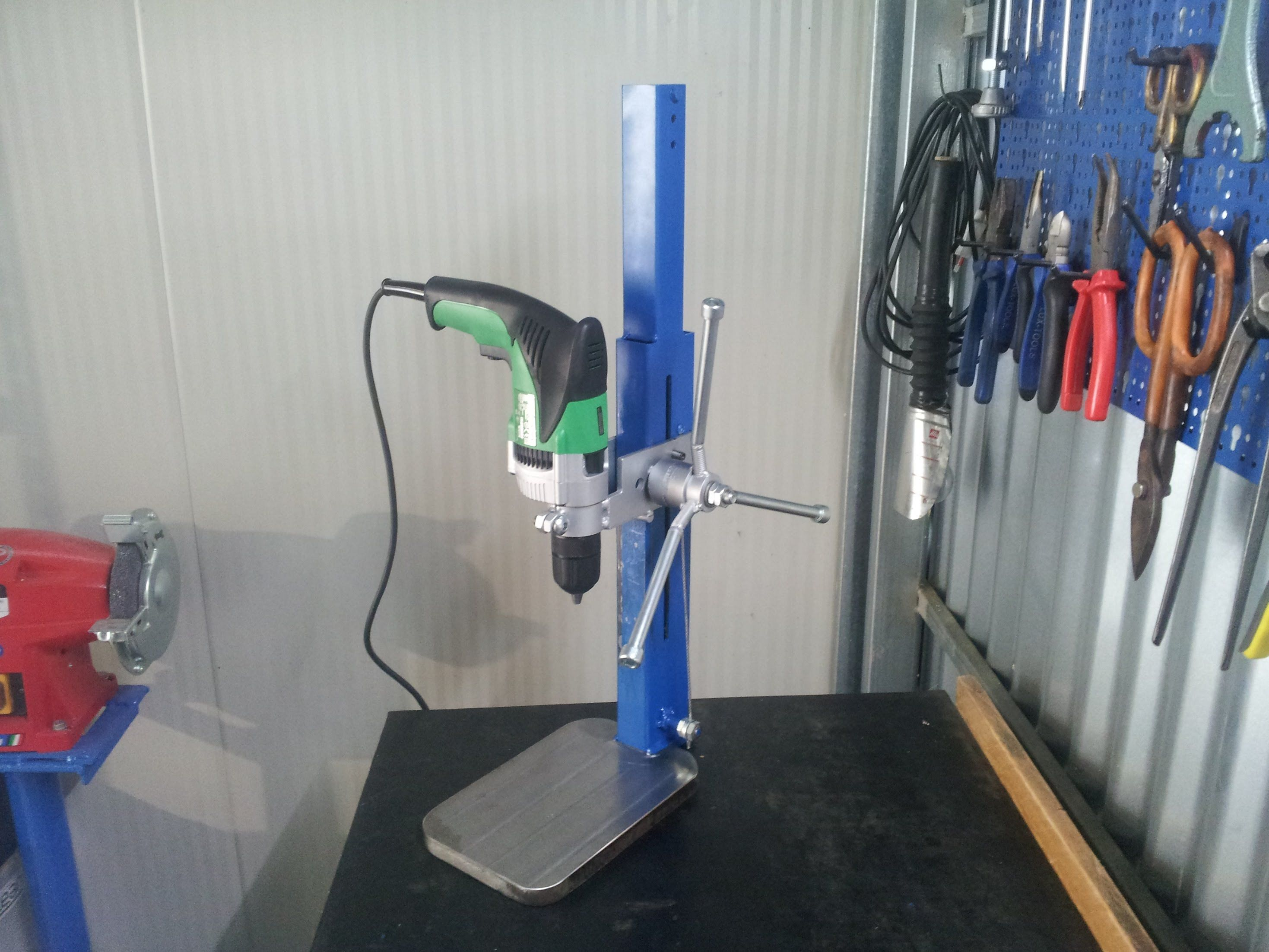 Trapano A Colonna Fai Da Te Homemade Drill Press Scule
