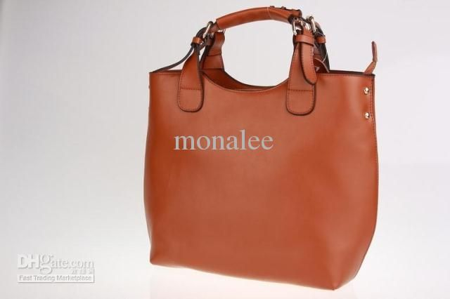 Wholesale Moonar Chic Bucket Tote Style Handbags, Leather Shoulder Bags, Free shipping, $61.52/Piece | DHgate