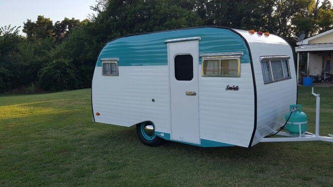 Serro scotty sportsman 1966 | Vintage camper, Vintage ...
