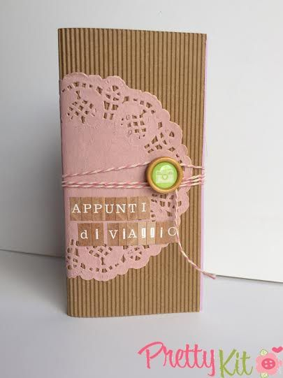 Claudia's Scrap: Tutorial: Mini Album - Appunti Di Viaggio