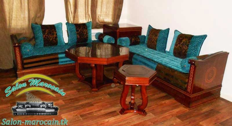 salon marocain pas cher - Salon Marocain Sahraoui