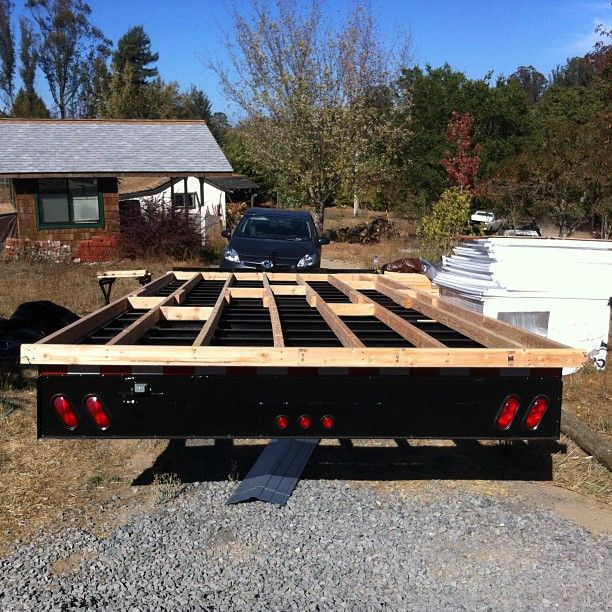 Tiny House Trailers Built By Tumbleweed Houses How To Floor And Frame A On Trailer Video 0 Lb 100