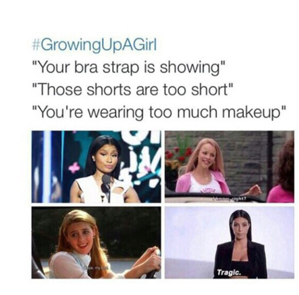 Growing Up Facts Of Life: Growing Up As A Girl