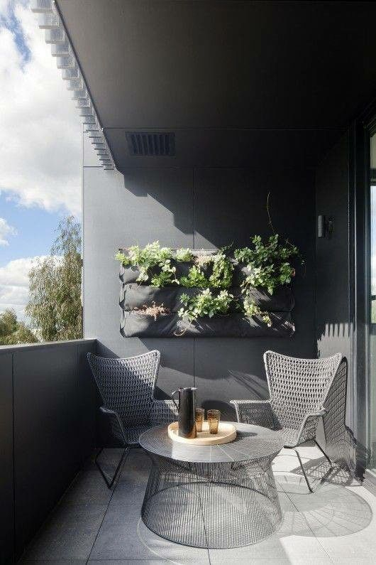 white and grey terrace ikea h gsten outdoor pinterest balkon haus interieu design und. Black Bedroom Furniture Sets. Home Design Ideas