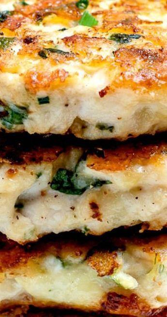 Cheesy Chicken Fritters Recipe – Easy Keto Recipe