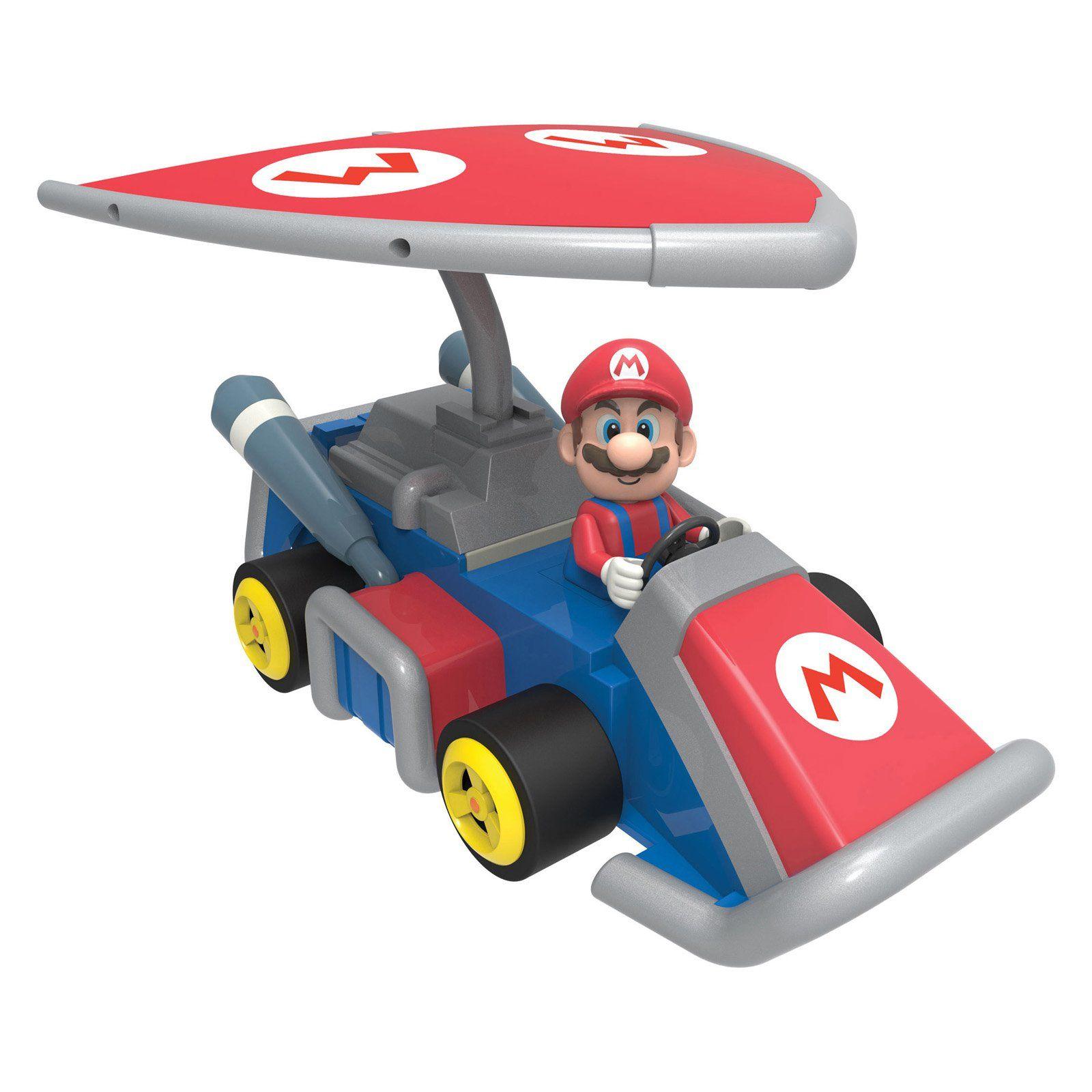 Have To Have It K 39 Nex Mario Kart 7 Mario Glider Kart Building Set 29 99 Hayneedle Mario Kart 7 Super Mario Toys Nintendo Mario Kart