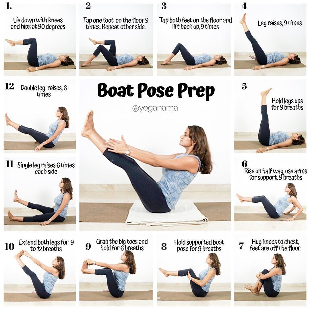 Prep For Navasana