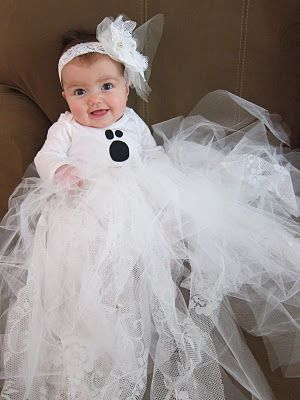 Diy baby girl ghost costume things from my crafty blog pinterest do it yourself divas diy baby ghost halloween costume tutorial revealed solutioingenieria Choice Image