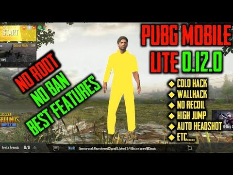 How To Hack Pubg Mobile Lite V 0 12 0 High Jump Wallhack Color Hack Aimbot High Jump Some Funny Jokes Hack Free Money