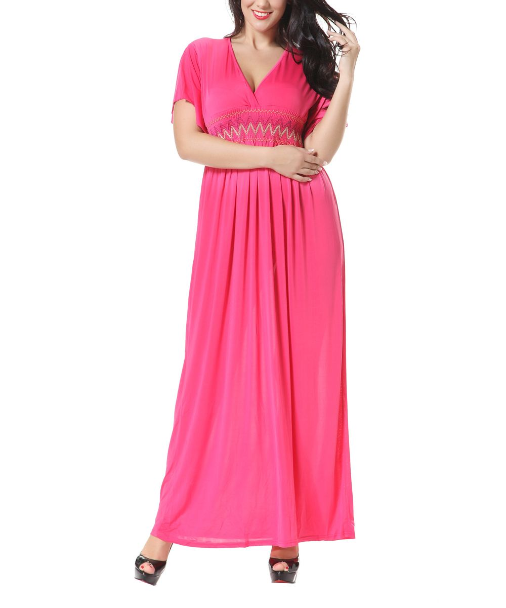 Rose Smocked Maxi Dress - Plus Too