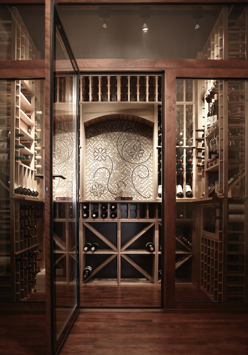 Cave A Vins Traditionnelle 500 Bouteilles Vinum Design Wine Cellar Cellar Home Decor