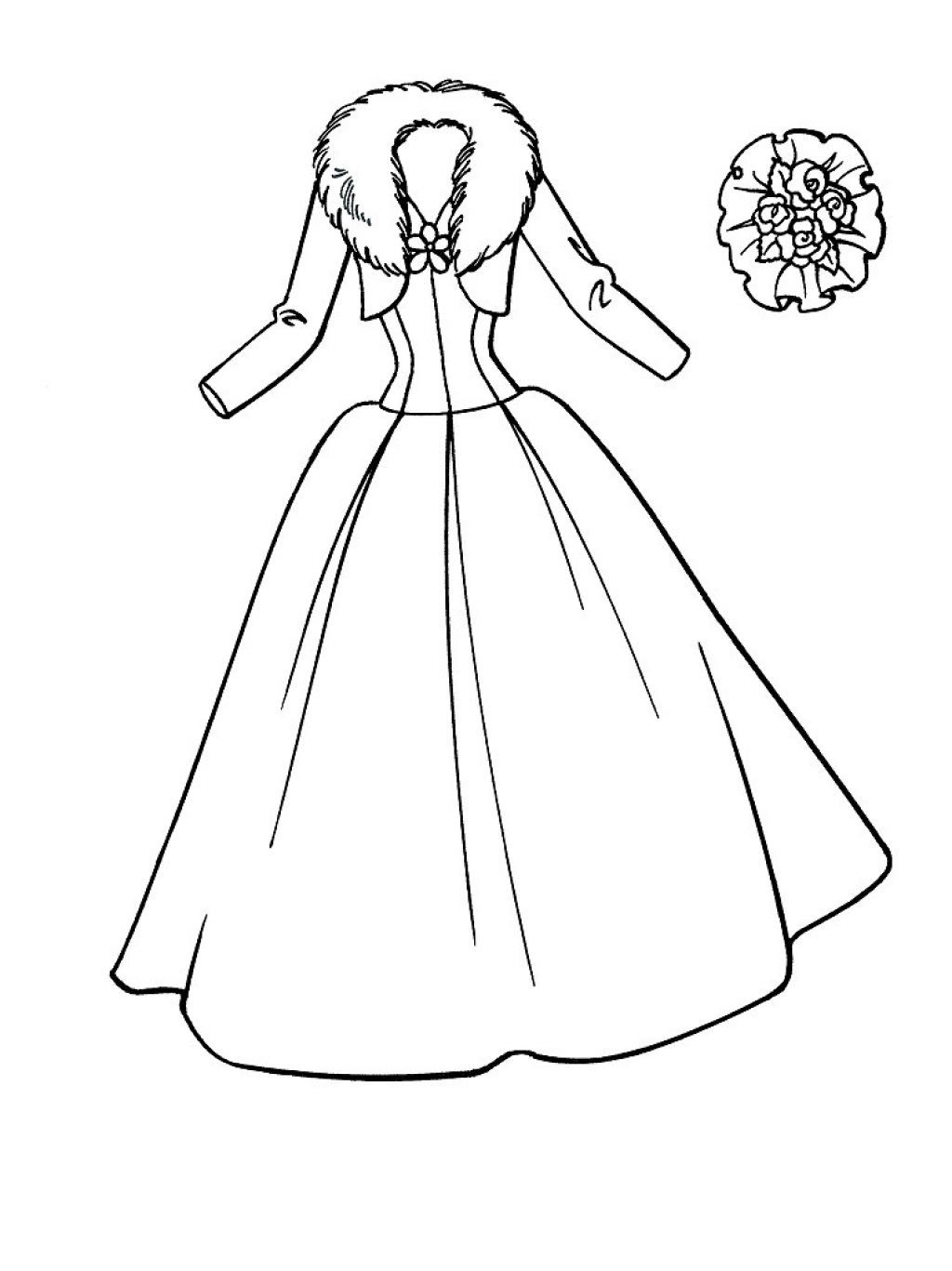 Nice Coloring Pages Of Girls In Dresses Free Download Wedding Coloring Pages Coloring Pages For Girls Barbie Coloring Pages