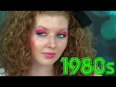 Historically Accurate 1980s Makeup Tutorial Youtube 1980s