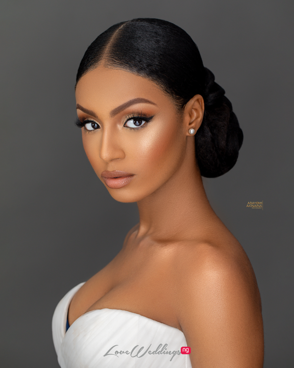 This bridal beauty shoot is flawless, effortless &