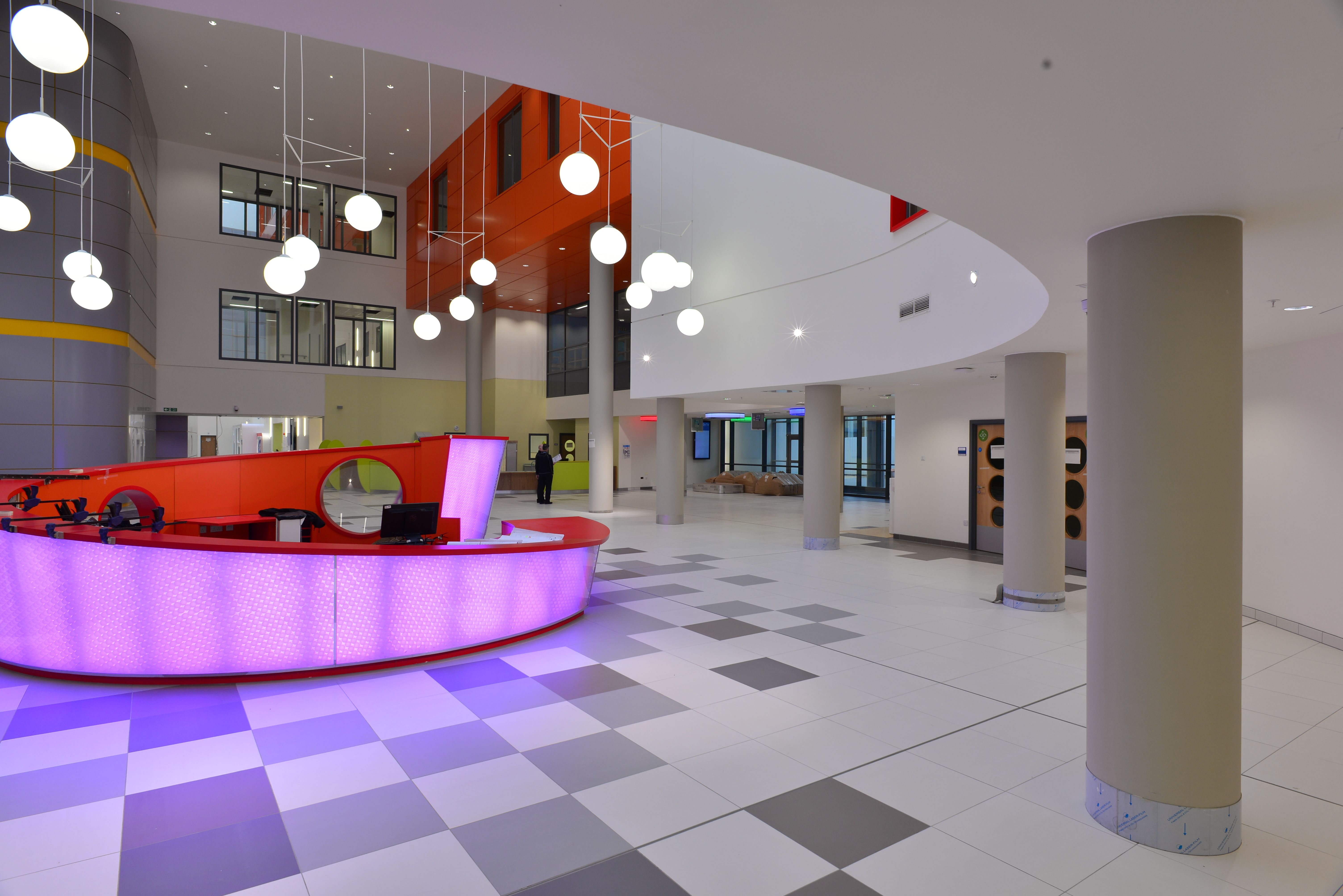 Armstrong drywall grid at queen elizabeth university hospital queen elizabeth university hospital glasgow by ibi ceilings using armstrong group drywall grid system flat and a range of other armstrong products dailygadgetfo Image collections