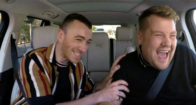 Watch Sam Smith And Fifth Harmony Join James Corden For Carpool