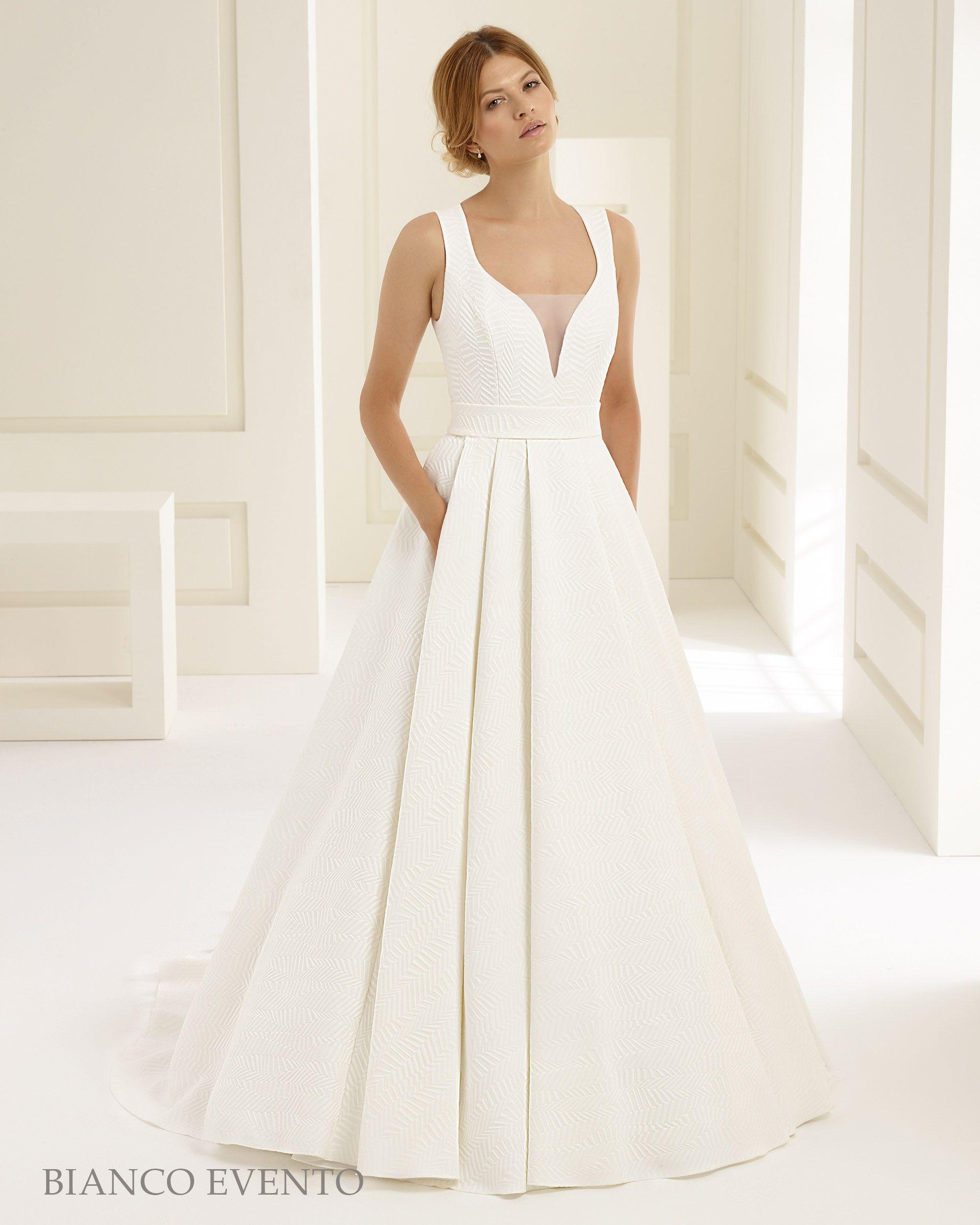 Zauberhaftes Brautkleid aus der Kollektion Bianco Evento ...