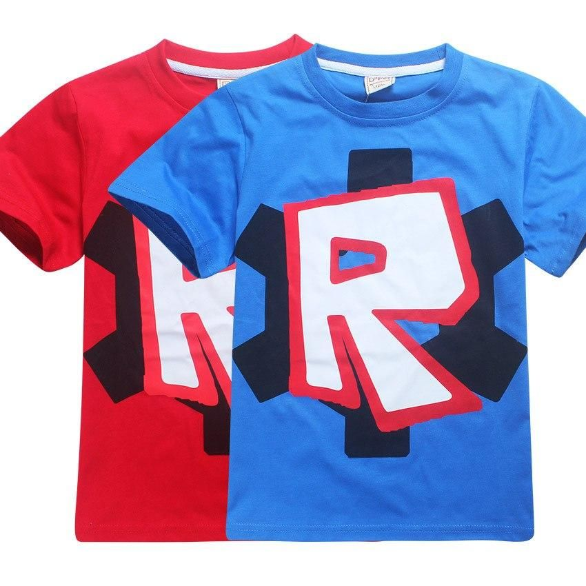 Roblox 4 12y Printed Kids Cotton T Shirt With Images Kids