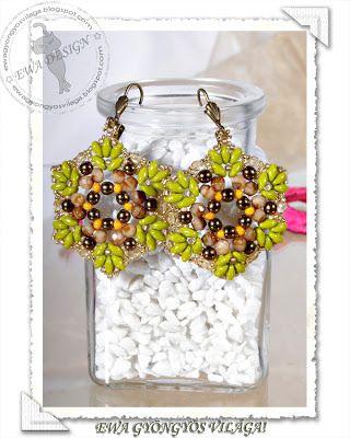 Pattern bijoux: Orecchini Twinora