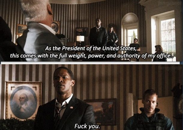 White House Quotes Magnificent White House Down  Priceless Movie Quotesmoments  Pinterest .