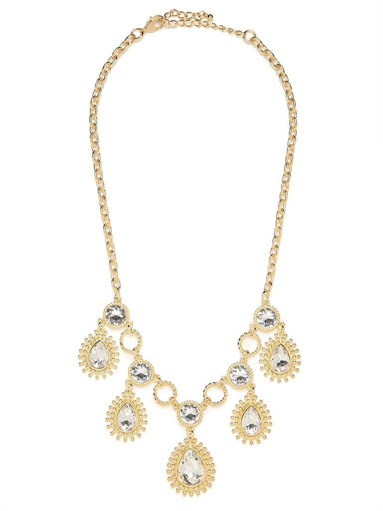 This Is One Extravagant Style That S Fit For A Queen Not Only Does It Feature Massive Gobstopper Crystals Bu Quality Fashion Jewelry Fashion Necklace Jewelry