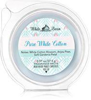 Pure White Cotton Fragrance Melt Home Fragrance 1037181 Bath
