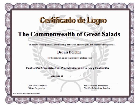 Certificado De Logro Para Imprimir Los Certificados Gratis Para Descargar E Imprimir Certificado De Estudio Diplomas De Reconocimiento Diplomas Para Imprimir