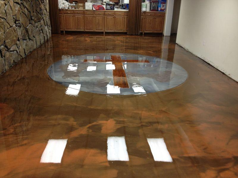 Epoxy Flooring Gallery Glossy Floors Epoxy floor