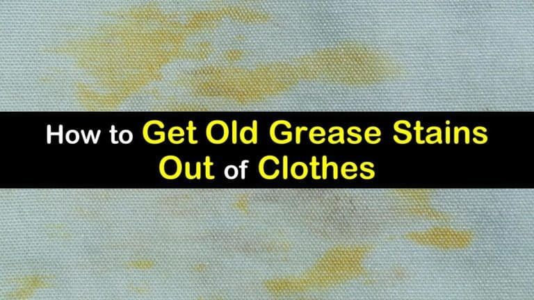 10 Simple Ways to Get Old Grease Stains Out of Clothes in