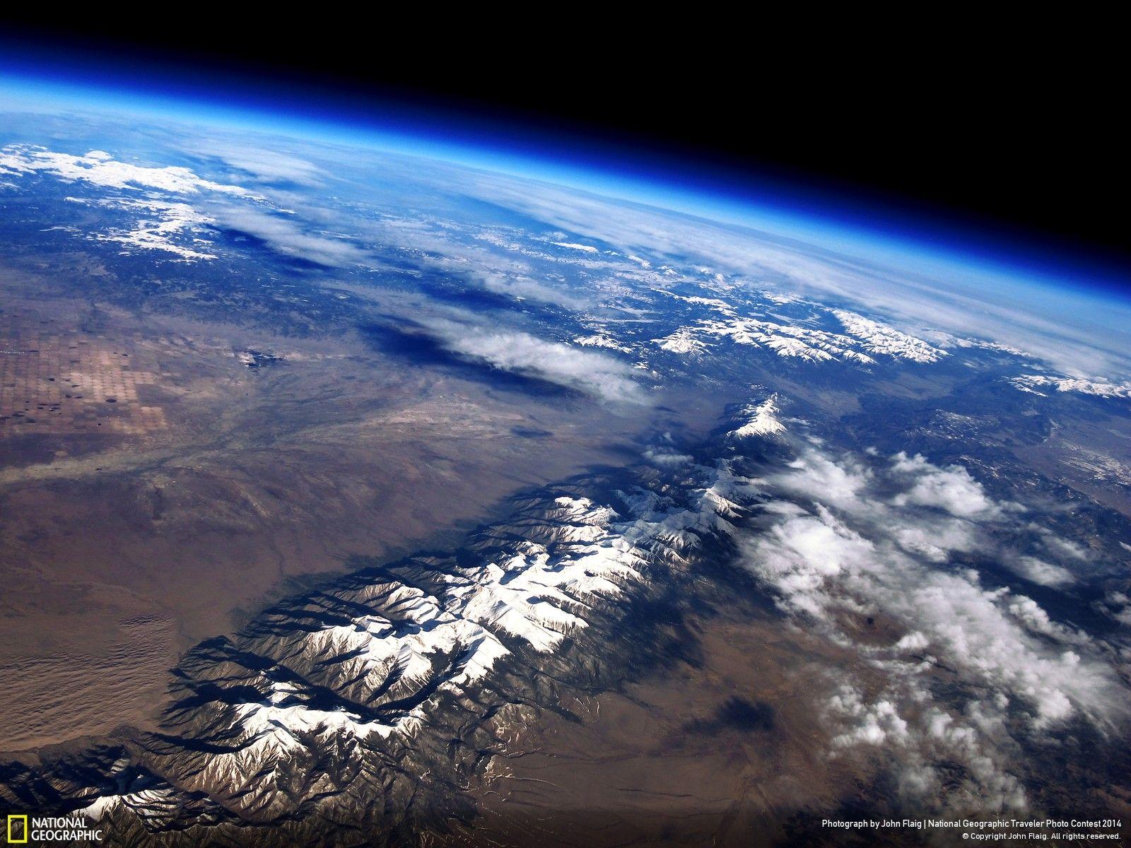Sangre De Cristo Range Colorado From 98000 Feet Up On A Weather Balloon By John Flaig Imgur
